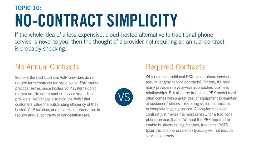 No-Contract Simplicity