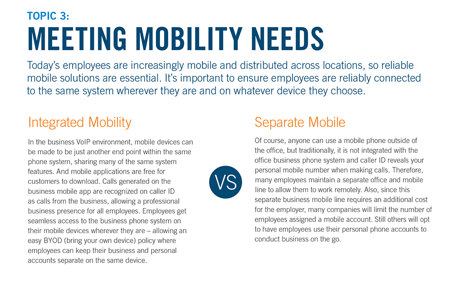 Meeting Mobility Needs